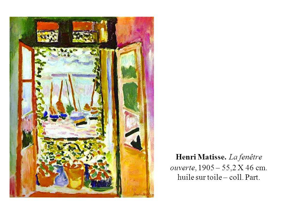 Portrait de Madame Matisse, 1905, huile sur toile, 40,5 X 32,5 cm., Statens Museum for Kunst, Copenhague.