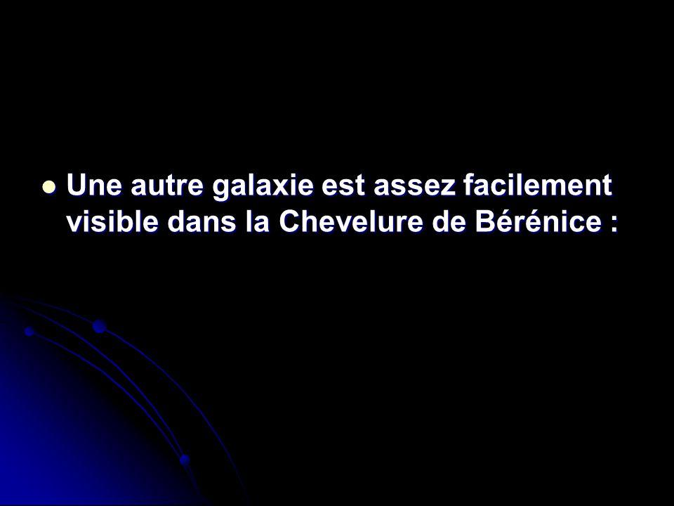 Une autre galaxie est assez facilement visible dans la Chevelure de Bérénice : Une autre galaxie est assez facilement visible dans la Chevelure de Bér
