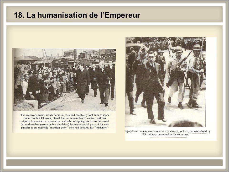 18. La humanisation de l'Empereur
