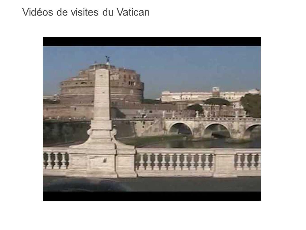 Vidéos de visites du Vatican