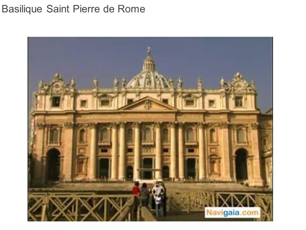 La basilique Saint-Pierre (en latin Sancti Petri) ou plus exactement Saint-Pierre du Vatican (San Pietro in Vaticano) est le plus important édifice religieux du catholicisme.