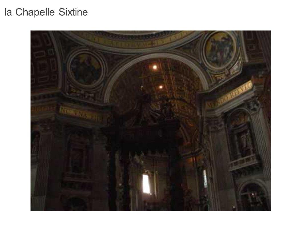 La voûte de la Chapelle Sixtine constitue l une des plus belles réalisations de l histoire de l art.