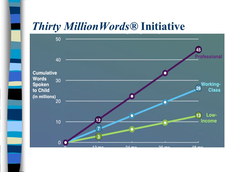 Thirty MillionWords® Initiative