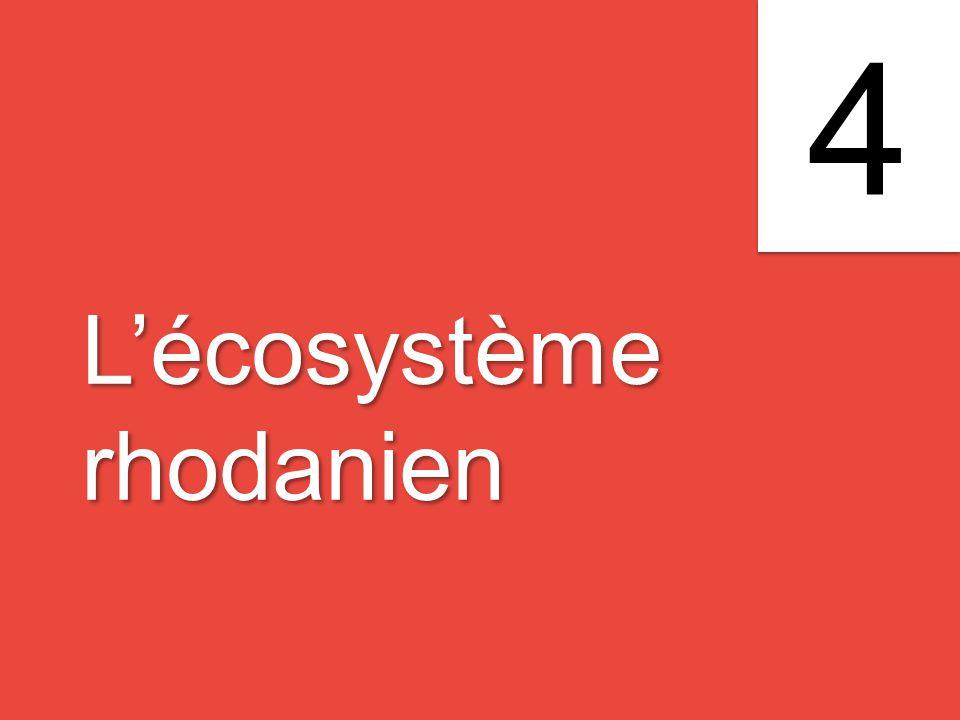L'écosystème rhodanien L'écosystème rhodanien 4 4