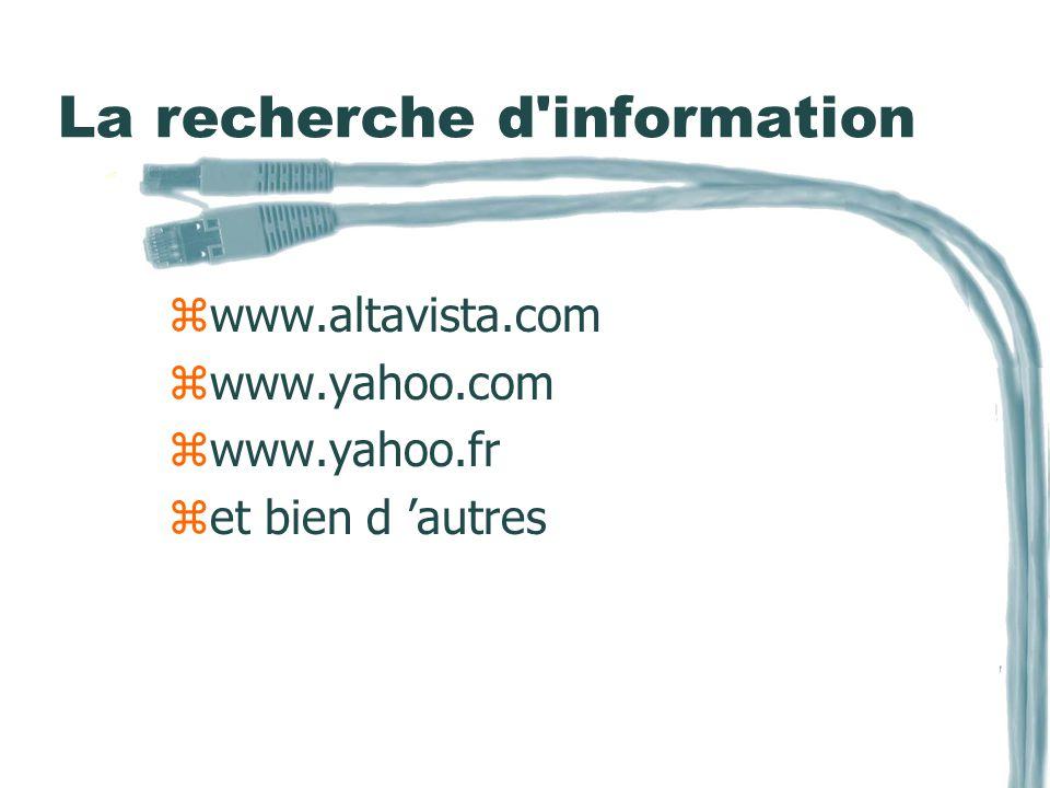 URL (adresse INTERNET) zNo IP 156.63.123.105 zNom de domaine www.MonNom.com Nom.MonNom.com