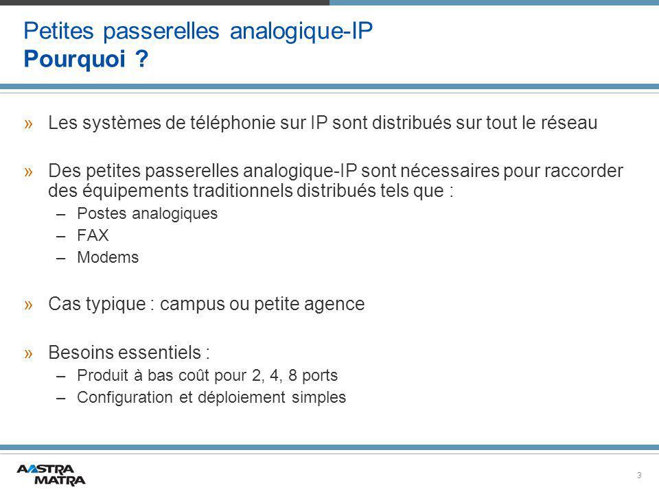3 Petites passerelles analogique-IP Pourquoi .