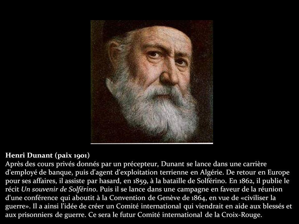 Albert Schweitzer (paix 1952) Pasteur de l église Saint-Nicolas à Strasbourg en 1900.