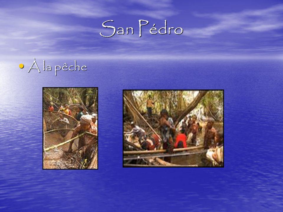 San Pédro À la pêche À la pêche