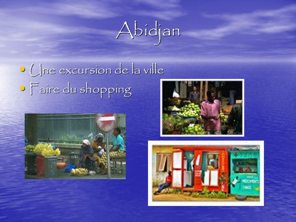 Abidjan Visiter au Musée Visiter au Musée Visiter l'université d'Abidjan Visiter l'université d'Abidjan