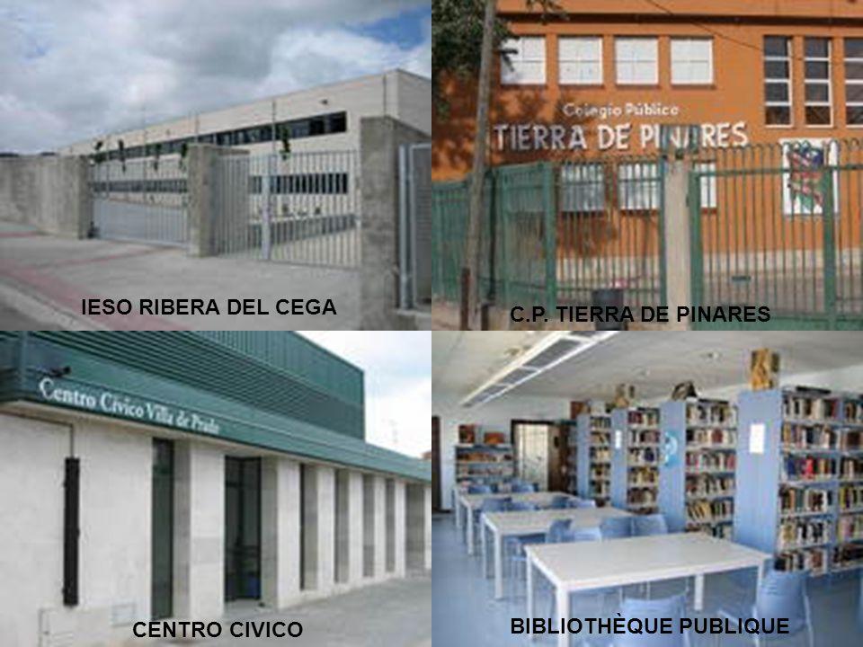 IESO RIBERA DEL CEGA C.P. TIERRA DE PINARES CENTRO CIVICO BIBLIOTHÈQUE PUBLIQUE