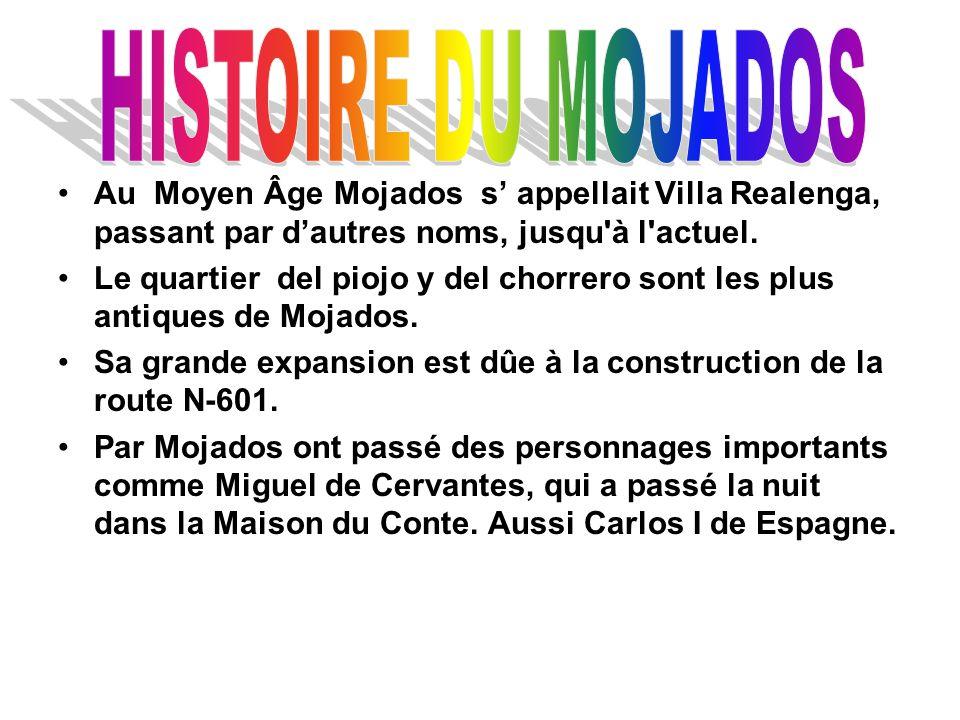 Au Moyen Âge Mojados s' appellait Villa Realenga, passant par d'autres noms, jusqu à l actuel.