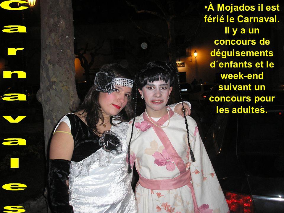 À Mojados il est férié le Carnaval.