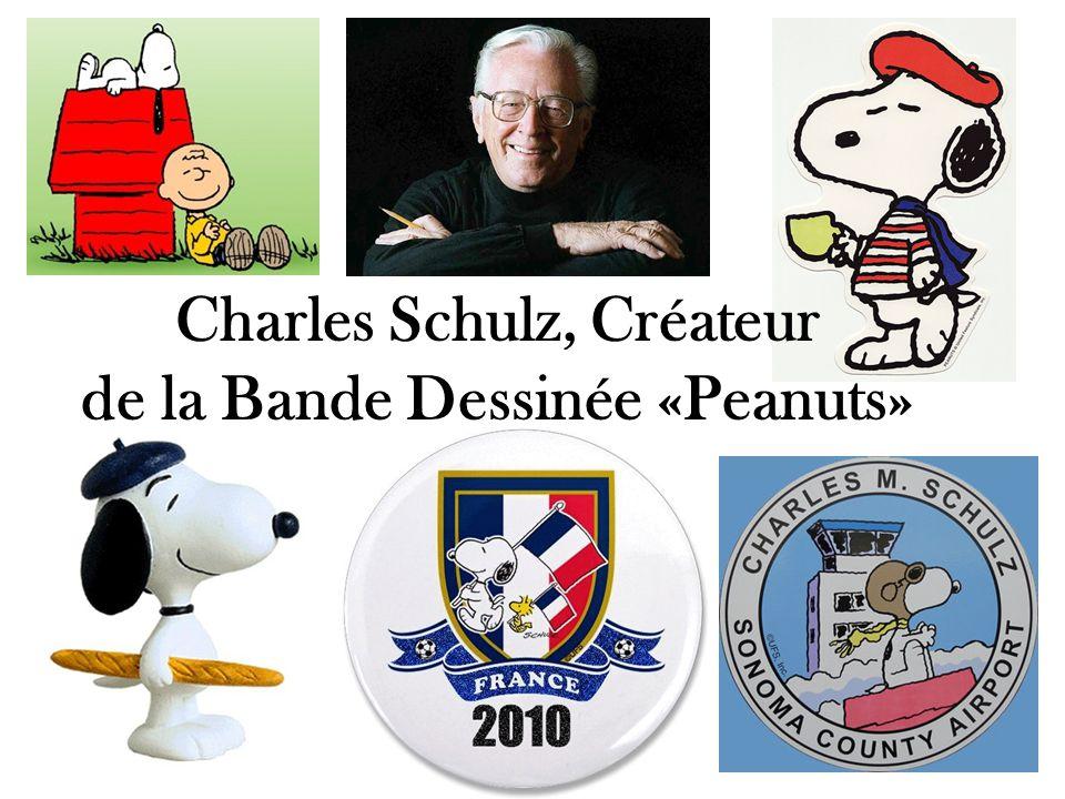 Charles Schulz, Créateur de la Bande Dessinée «Peanuts»