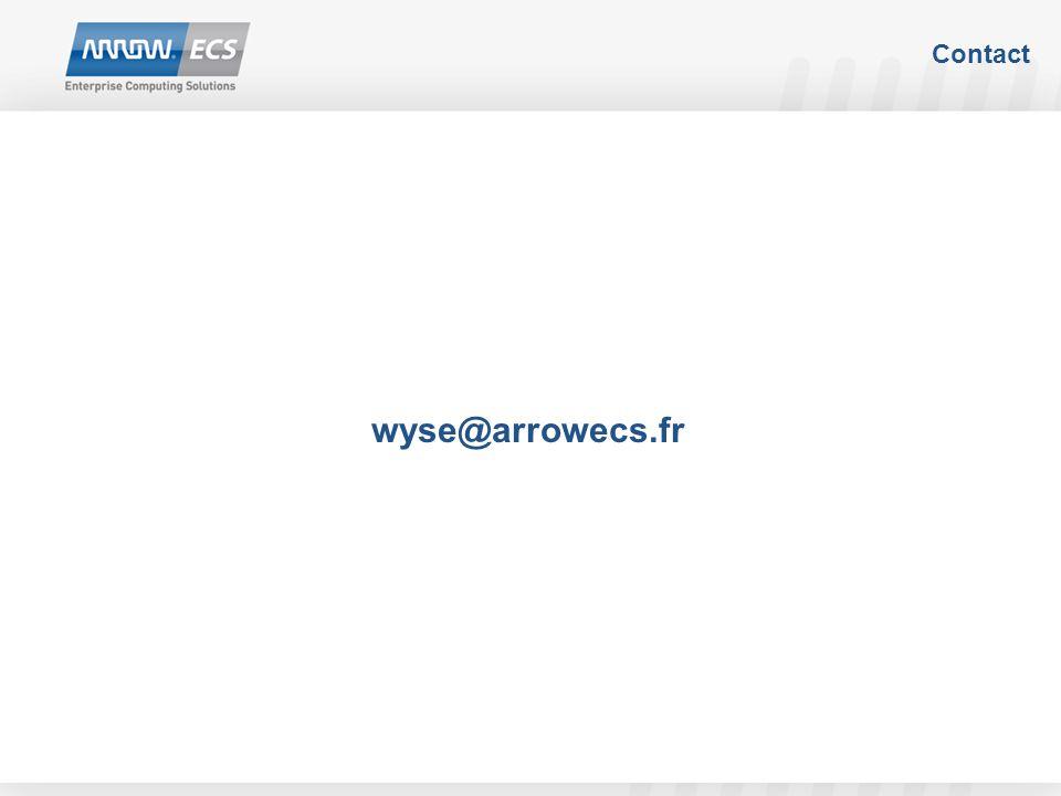 Contact wyse@arrowecs.fr