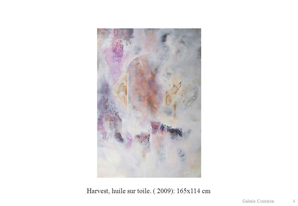 Galerie Couteron 4 Harvest, huile sur toile. ( 2009): 165x114 cm