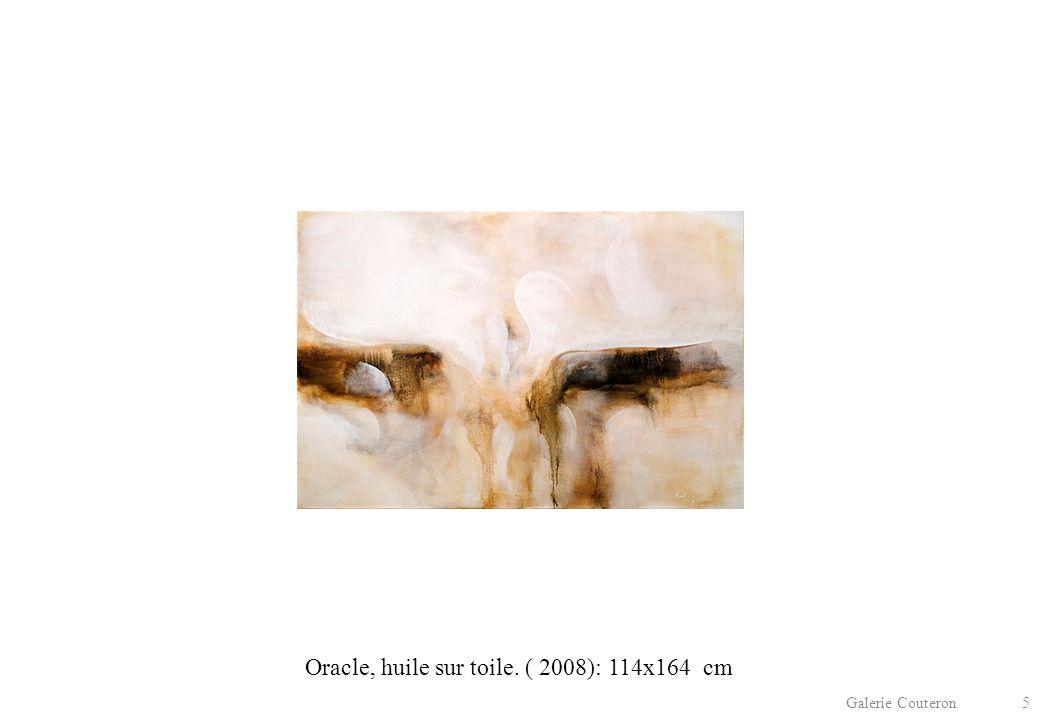 Galerie Couteron 5 Oracle, huile sur toile. ( 2008): 114x164 cm