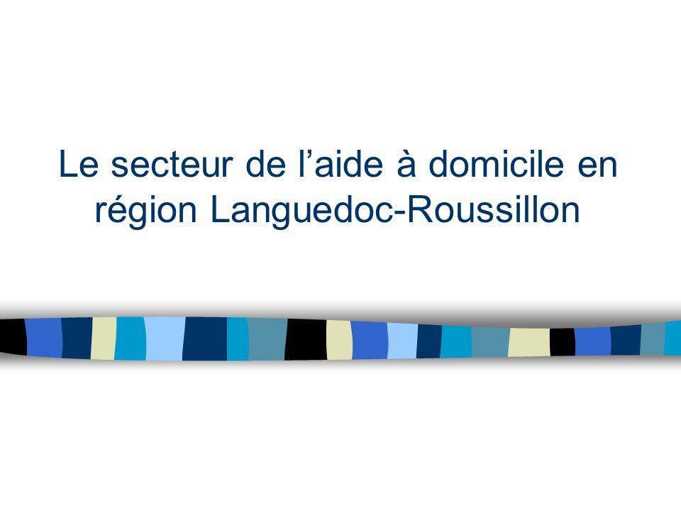 Le secteur de l'aide à domicile en région Languedoc-Roussillon
