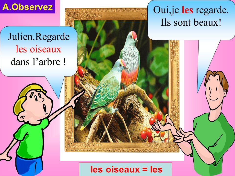 B.LE PRONOM COMPLÉMENT: ( ĐẠI TỪ BỔ NGỮ) LE,LA,L',LES = ĐẠI TỪ BỔ NGỮ Thay thế danh từ được lặp lại 1.EMPLOI DU C.O.D (Cách sử dụng đại từ bổ ngữ) NOM masculin au singulier = le a NOM féminin au singulier = la + e  l' i o u NOM masculin ou féminin au pluriel = les LE,LA,L',LES = ĐẠI TỪ BỔ NGỮ Thay thế danh từ được lặp lại 1.EMPLOI DU C.O.D (Cách sử dụng đại từ bổ ngữ) NOM masculin au singulier = le a NOM féminin au singulier = la + e  l' i o u NOM masculin ou féminin au pluriel = les