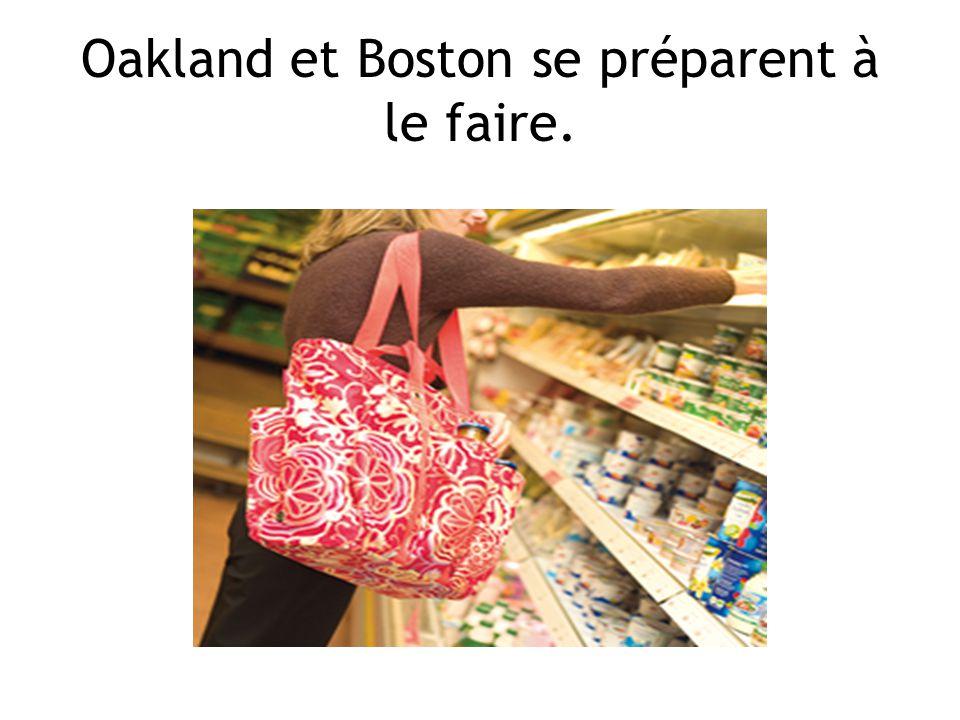 Oakland et Boston se préparent à le faire.