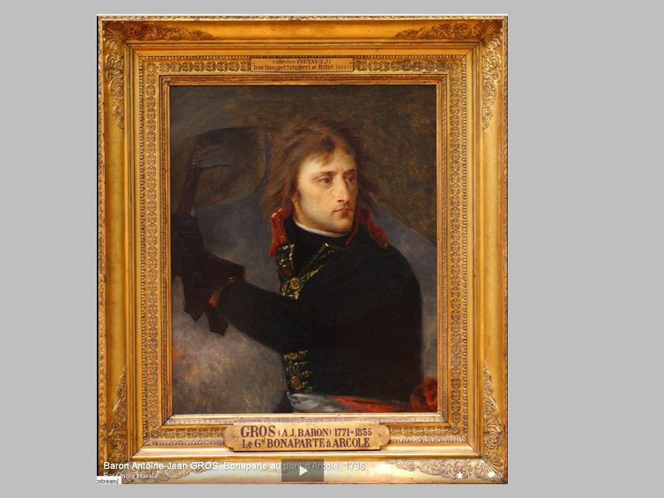Bonaparte au pont d'Arcole par Baron Antoine-Jean GROS H.