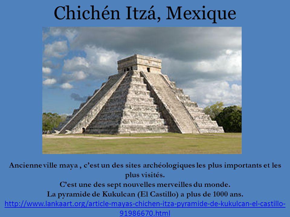 Chichén Itzá, Mexique Ancienne ville maya, c'est un des sites archéologiques les plus importants et les plus visités.