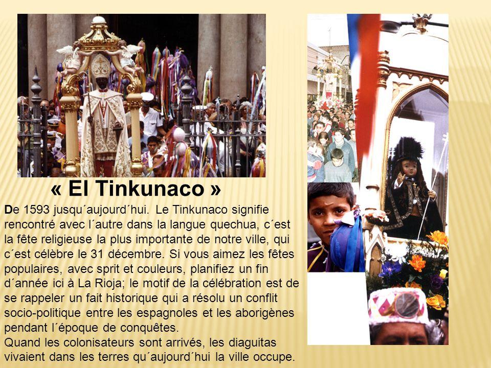« El Tinkunaco » De 1593 jusqu´aujourd´hui. Le Tinkunaco signifie rencontré avec l´autre dans la langue quechua, c´est la fête religieuse la plus impo