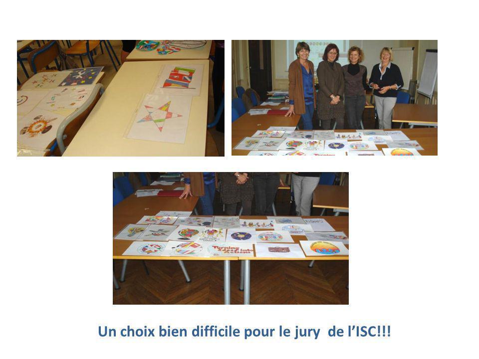 Un choix bien difficile pour le jury de l'ISC!!!