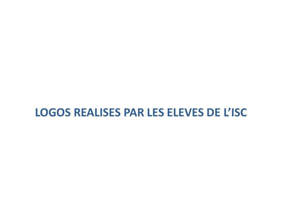 LOGOS REALISES PAR LES ELEVES DE L'ISC