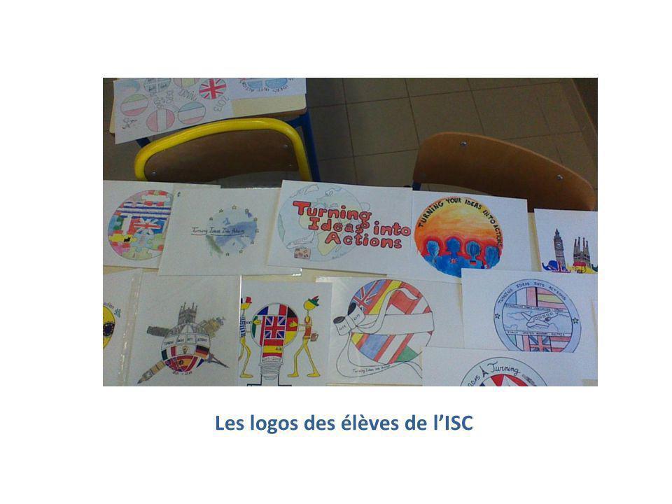 Les logos des élèves de l'ISC