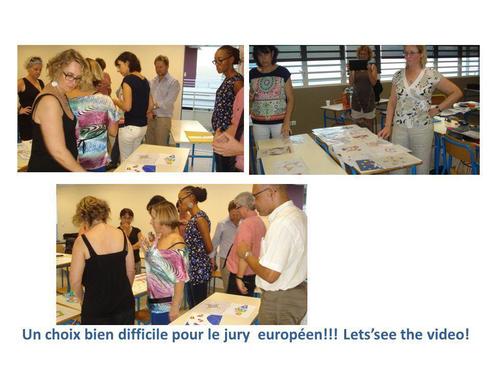 Un choix bien difficile pour le jury européen!!! Lets'see the video!