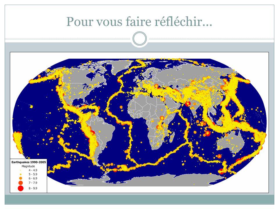 Les plaques tectoniques 14 plaques majeurs...