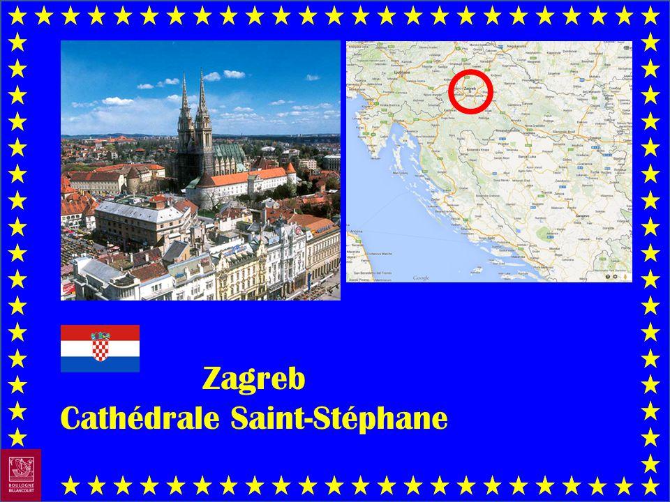 Zagreb Cathédrale Saint-Stéphane
