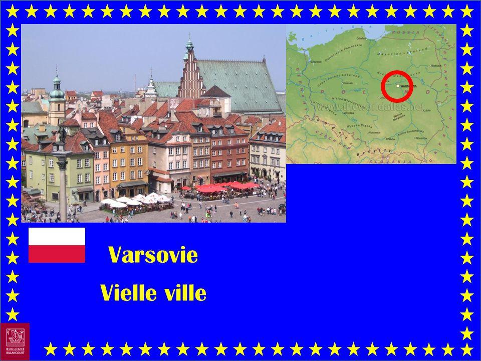 Varsovie Vielle ville