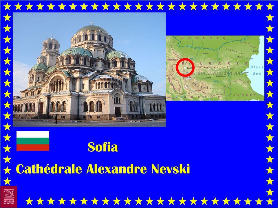 Sofia Cathédrale Alexandre Nevski