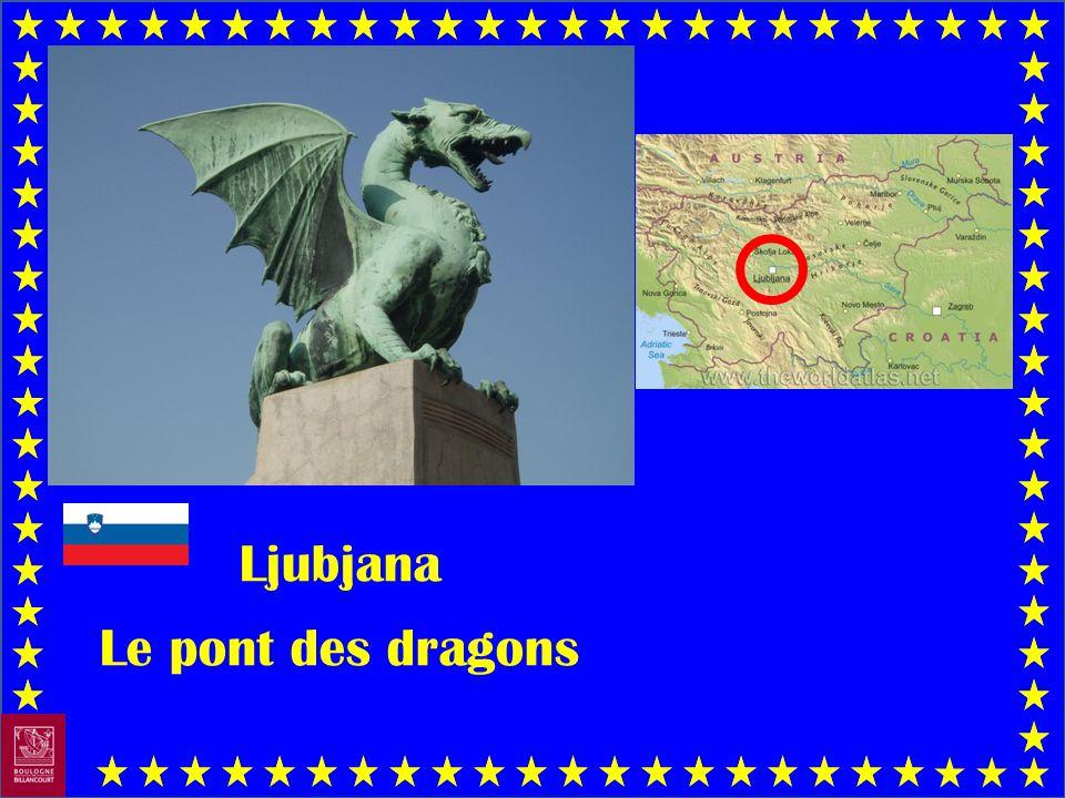 Ljubjana Le pont des dragons