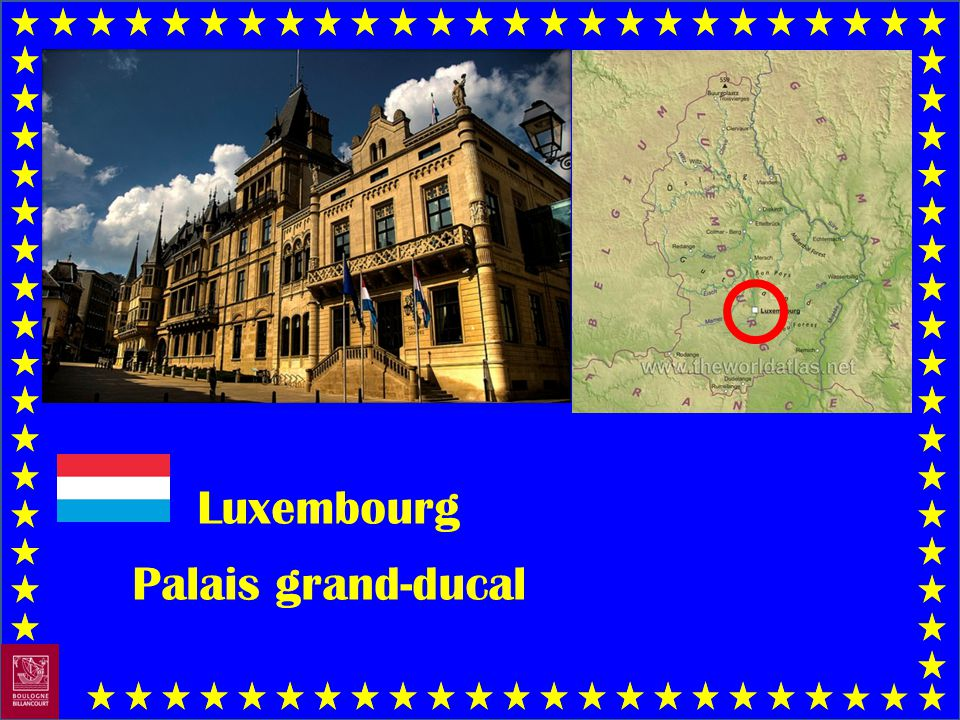Luxembourg Palais grand-ducal