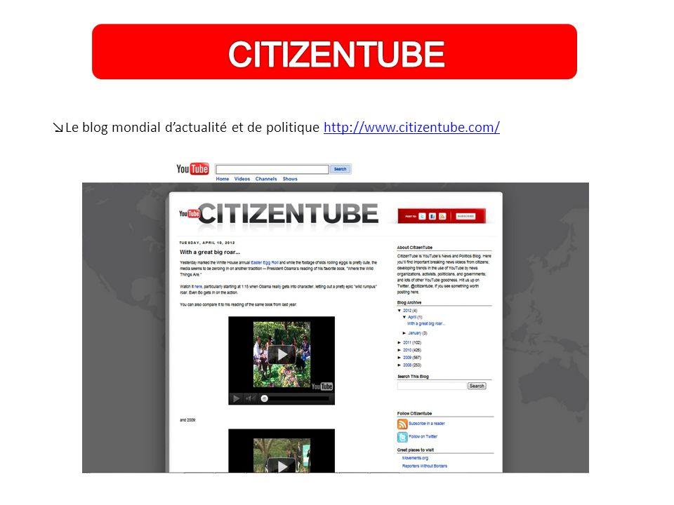 ↘Le blog mondial d'actualité et de politique http://www.citizentube.com/http://www.citizentube.com/