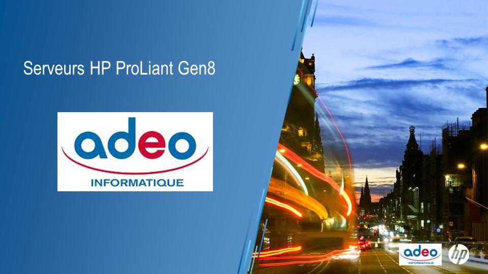 Serveurs HP ProLiant Gen8