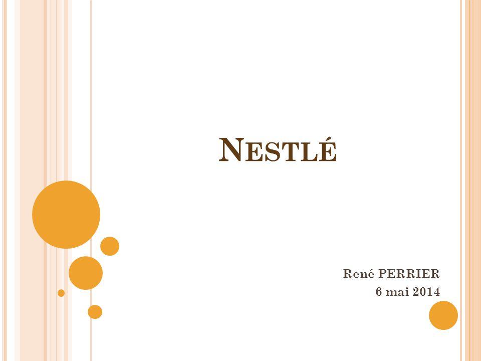 L ES INTERROGATIONS en 1939 : création de 2 stés : Nestlé à Vevey, Unilac aux Etats Unis.