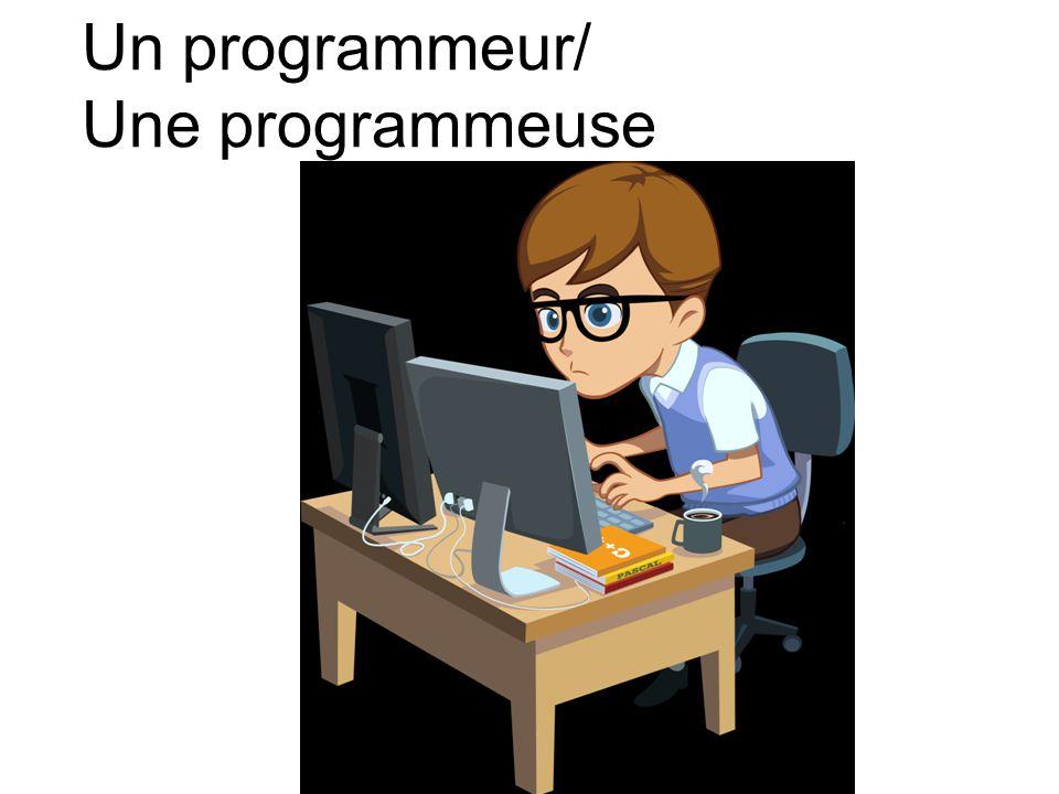 Un programmeur/ Une programmeuse