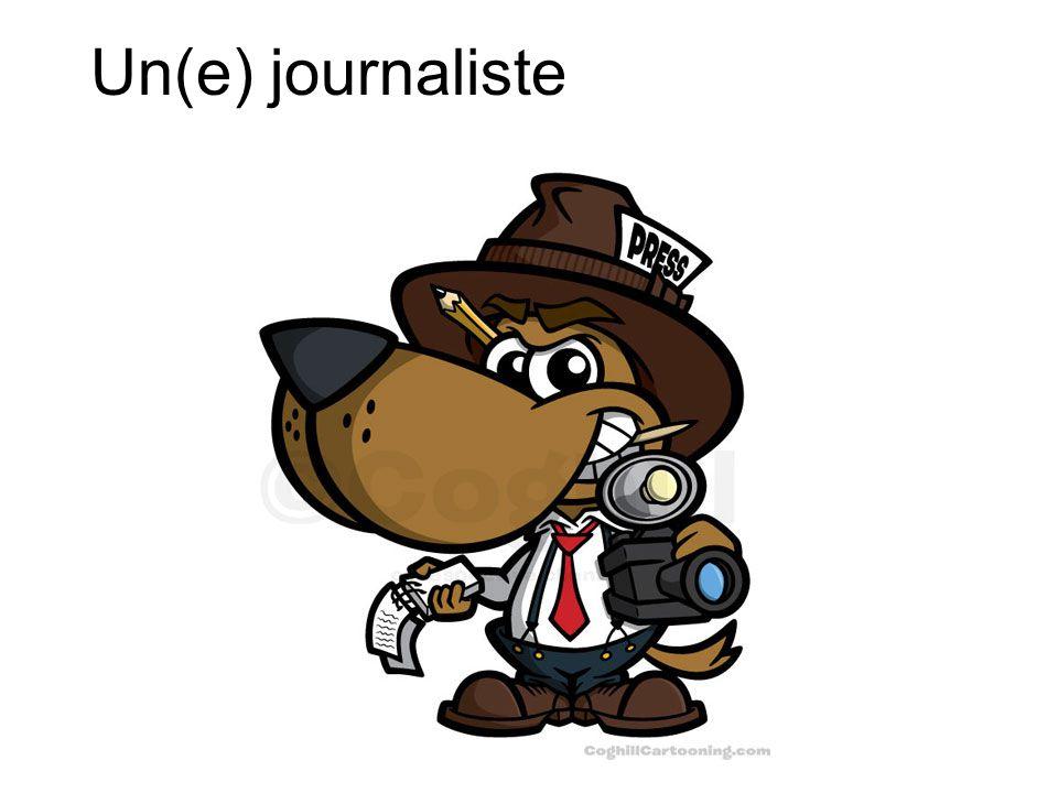 Un(e) journaliste