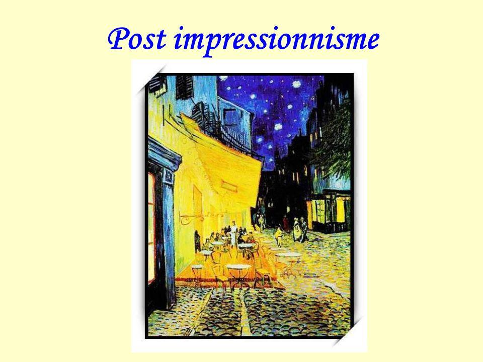 Постимпрессиони́зм— направление в изобразительном искусстве.
