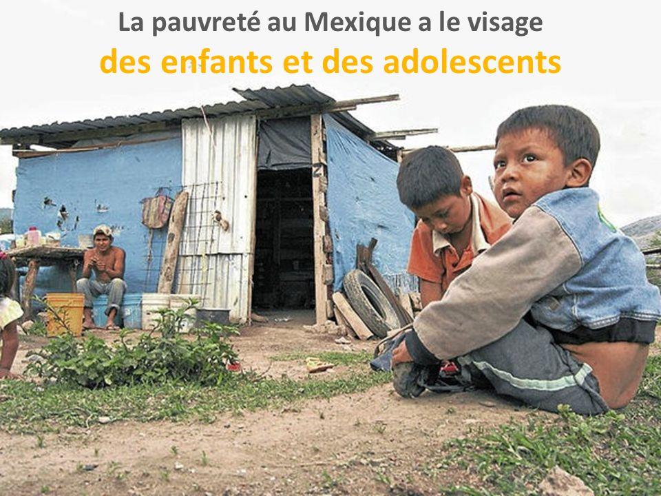 La pauvreté au Mexique a le visage des enfants et des adolescents
