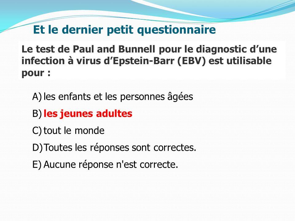 A)les enfants et les personnes âgées B)les jeunes adultes C)tout le monde D)Toutes les réponses sont correctes.