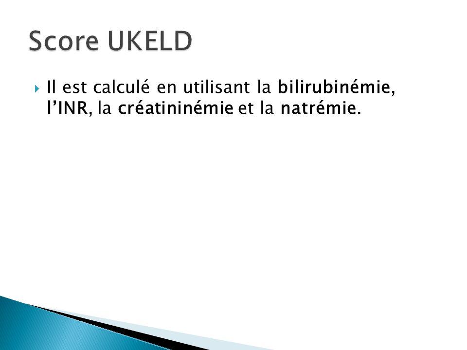  Il est calculé en utilisant la bilirubinémie, l'INR, la créatininémie et la natrémie.