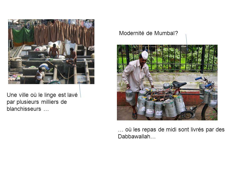 Modernité de Mumbaï.