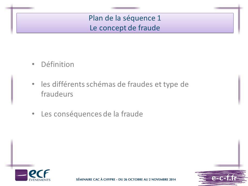 L'approche du commissaire aux comptes en matière de fraude Collecte de l'information Identification des risques Appréciation des risques Synthèse et documentation Les conséquences de la fraude Mise en œuvre de la NEP 240