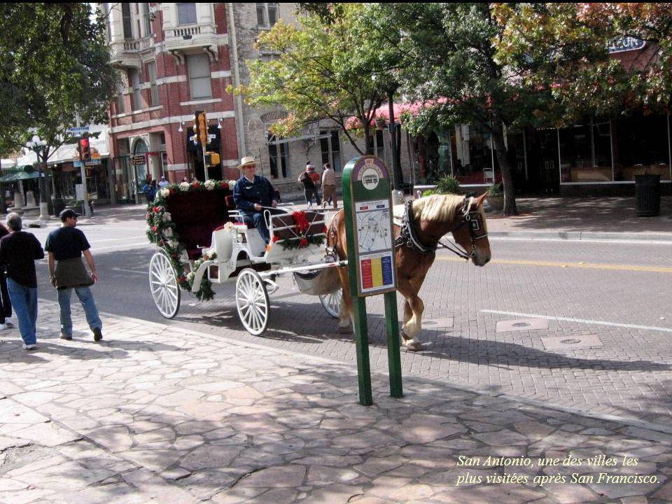 San Antonio, une des villes les plus visitées après San Francisco.