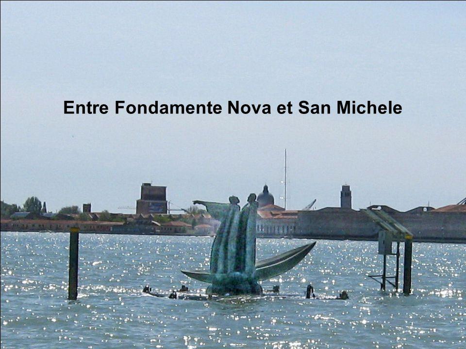 Vue sur l'île San Michele