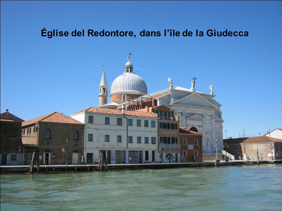 Église del Redontore, dans l'île de la Giudecca